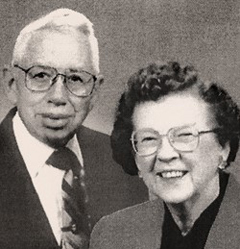 Photo of Wilbur B. & Catherine Tendrick. Link to their story.